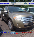 ford edge 2013 gold sel gasoline 6 cylinders all whee drive automatic 07724