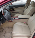 lexus gs 350 2007 dk  red sedan gasoline 6 cylinders rear wheel drive automatic 32401