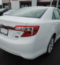 toyota camry hybrid 2013 white sedan xle hybrid 4 cylinders front wheel drive cont  variable trans  34788