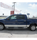 ford f 150 2009 blue xlt gasoline 8 cylinders 2 wheel drive automatic 77539