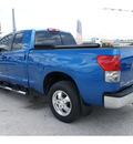 toyota tundra 2009 blue sr5 gasoline 8 cylinders 2 wheel drive automatic 77539