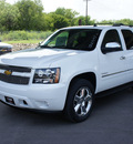 chevrolet tahoe 2014 summit white suv ltz flex fuel 8 cylinders 2 wheel drive automatic 76051