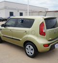kia soul 2012 green hatchback gasoline 4 cylinders front wheel drive automatic 76108
