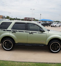 ford escape 2008 green suv xls gasoline 4 cylinders front wheel drive 5 speed manual 76108
