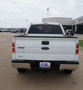 ford f 150 2010 white xl gasoline 8 cylinders 4 wheel drive automatic with overdrive 76108