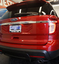 ford explorer 2012 red suv xlt gasoline 6 cylinders 2 wheel drive automatic 75062