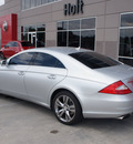 mercedes benz cls class 2009 silver coupe cls550 gasoline 8 cylinders rear wheel drive automatic 76108