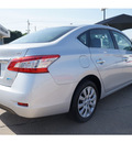 nissan sentra 2013 silver sedan sv 4 cylinders front wheel drive automatic 76502