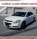 chevrolet malibu 2011 white sedan ls gasoline 4 cylinders front wheel drive automatic 78552