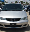 honda odyssey 2004 silver van ex l gasoline 6 cylinders front wheel drive automatic 77065