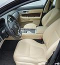 jaguar xf 2012 black sedan 8 cylinders automatic 27511