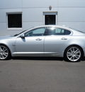 jaguar xf 2010 silver sedan supercharged 8 cylinders shiftable automatic 27511
