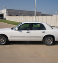 mercury grand marquis 2000 white sedan gs gasoline v8 rear wheel drive automatic with overdrive 76108