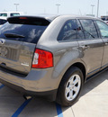 ford edge 2013 gray sel gasoline 4 cylinders front wheel drive automatic 76230