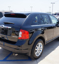 ford edge 2013 black limited gasoline 6 cylinders front wheel drive automatic 76230
