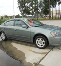 nissan altima 2005 lt  green sedan 2 5 s gasoline 4 cylinders front wheel drive automatic 75503