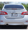 nissan sentra 2013 silver sedan sr 4 cylinders front wheel drive cont  variable trans  78520