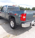 chevrolet silverado 1500 2009 blue lt z71 flex fuel 8 cylinders 4 wheel drive automatic 14224