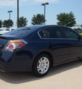 nissan altima 2009 dk  blue sedan 2 5 s gasoline 4 cylinders front wheel drive automatic 76018