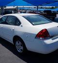 chevrolet impala 2007 white sedan ls flex fuel 6 cylinders front wheel drive automatic 76234
