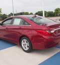 hyundai sonata 2013 dk  red sedan gls gasoline 4 cylinders front wheel drive automatic 77094
