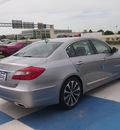 hyundai genesis 2013 lt  gray sedan 5 0l r spec gasoline 8 cylinders rear wheel drive automatic 77094