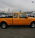 ford ranger 2009 orange styleside gasoline 6 cylinders 2 wheel drive automatic 79925