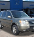 honda pilot 2008 green suv ex l w dvd gasoline 6 cylinders front wheel drive automatic 77065