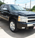 chevrolet silverado 1500 2009 black pickup truck lt flex fuel 8 cylinders 2 wheel drive automatic 78232