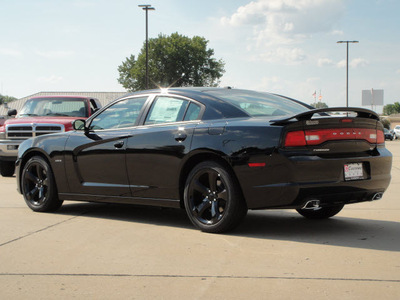 dodge charger 2014 black sedan r t gasoline 8 cylinders rear wheel drive automatic 62034