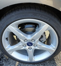 ford focus 2014 gray hatchback titanium flex fuel 4 cylinders front wheel drive automatic with overdrive 60546