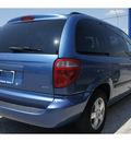 dodge caravan 2007 blue van sxt gasoline 6 cylinders front wheel drive automatic 78217