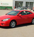 toyota camry solara 2008 red coupe se gasoline 4 cylinders front wheel drive automatic 56001