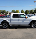 ford f 150 2013 white fx4 flex fuel 8 cylinders 4 wheel drive automatic 73703