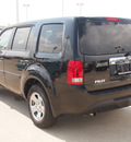 honda pilot 2013 black suv lx gasoline 6 cylinders front wheel drive automatic 77065