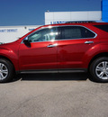 chevrolet equinox 2013 red suv ltz gasoline 4 cylinders front wheel drive 6 speed automatic 76266