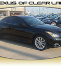 infiniti g37 convertible 2011 black obsidian gasoline 6 cylinders rear wheel drive shiftable automatic 77546