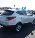 hyundai tucson 2013 silver gls gasoline 4 cylinders front wheel drive 6 speed automatic 76234