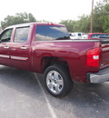 chevrolet silverado 1500 2009 dk  red lt flex fuel 8 cylinders 2 wheel drive automatic 78016