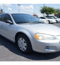 dodge stratus 2001 silver sedan se gasoline 4 cylinders front wheel drive automatic 76543