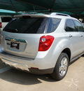 chevrolet equinox 2013 silver ltz gasoline 4 cylinders front wheel drive automatic 76051