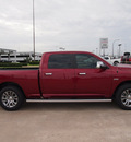 ram 1500 2014 red laramie limited gasoline 8 cylinders 4 wheel drive automatic 76011