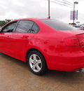 volkswagen jetta 2012 red sedan tdi diesel 4 cylinders front wheel drive automatic 78130