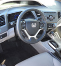 honda civic 2012 gray sedan ex l gasoline 4 cylinders front wheel drive automatic 79925
