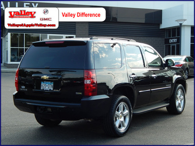 chevrolet tahoe 2007 black suv lt flex fuel 8 cylinders 4 wheel drive automatic with overdrive 55124