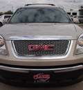 gmc acadia 2011 gold suv slt 2 gasoline 6 cylinders front wheel drive automatic 76018