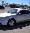 dodge avenger 2012 silver sedan se flex fuel 6 cylinders front wheel drive automatic 79925