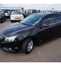 chevrolet cruze 2013 black sedan 1lt auto gasoline 4 cylinders front wheel drive automatic 78572