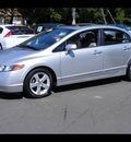 honda civic 2007 silver sedan ex gasoline 4 cylinders front wheel drive manual 06019