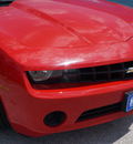 chevrolet camaro 2012 red coupe ls gasoline 6 cylinders rear wheel drive automatic 76206